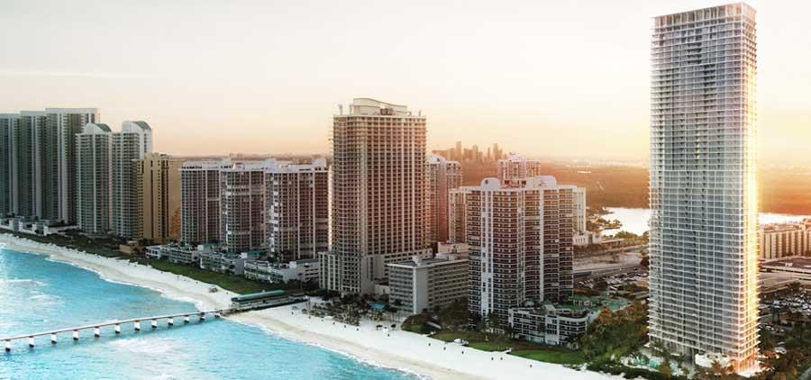 Jade Signature - new developments in Sunny Isles Beach