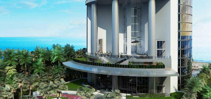 Porsche Design Tower - new developments at Sunny Isles Beach