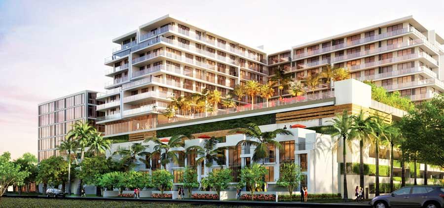 Residences at Park Square - new developments at Aventura