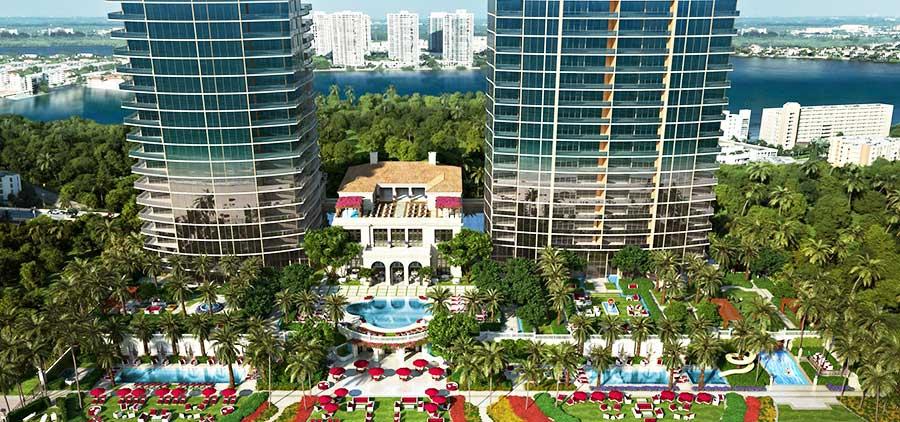 The Estates At Acqualina - new developments at Sunny Isles Beach